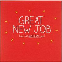 Happy Jackson Great New Job Greeting Card
