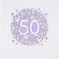 Paperlink 50th Birthday Card