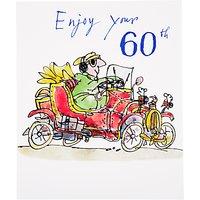 Woodmansterne Vintage Car 60th Birthday Card