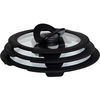 Tefal Ingenio Glass Lid Set, 3 Piece