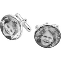 shop for Under the Rose Personalised Photo Cufflinks at Shopo