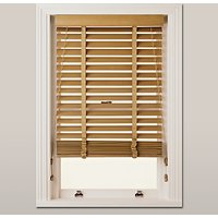 John Lewis Wood Venetian Blind, 50mm, FSC-certified