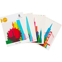 House by John Lewis, Yoni Atler Postcards, Pack of 8
