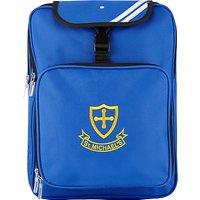 St Michael's Church of England Preparatory School Unisex Backpack, Royal Blue