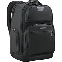 Briggs & Riley 15.6 Laptop and iPad Backpack, Black