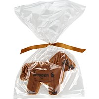 Image on Food Personalised Happy Birthday Horse Gingerbread, Pack of 10