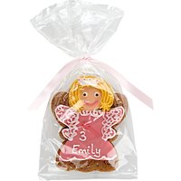 Image on Food Personalised Happy Birthday Princess Gingerbread, Pack of 10