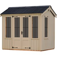 National Trust by Crane Garden Buildings Lavenham Summerhouse, 1.8 x 2.4m, FSC-Certified (Scandinavi