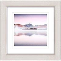 Mike Shepherd - Clearing Mist Framed Print, 47 x 47cm