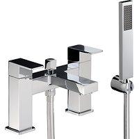 Abode Fervour Deck Mounted Bath/Shower Mixer Tap with