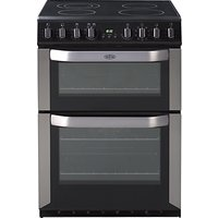 Belling FSE60MF Electric Cooker, Stainless Steel