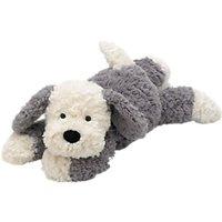 Jellycat Tumblie Sheepdog, Medium, Grey/White