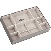 Stackers Large Deep 11-Section Jewellery Box, Mink