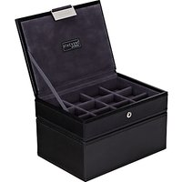 Stackers Mens Accessory Box, Black