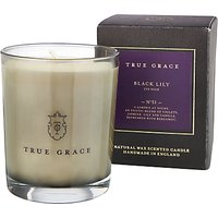 True Grace Manor Black Lily Scented Candle