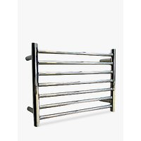 John Lewis & Partners Holkham Central Heated Towel Rail and Valves, from the Floor