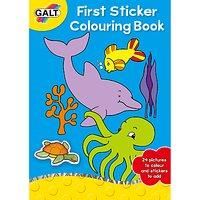 Galt First Sticker Colouring Book