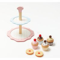 John Lewis & Partners Wooden Cake Stand