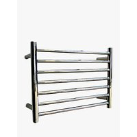 John Lewis & Partners Holkham Central Heated Towel Rail and Valves, from the Wall
