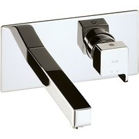 Abode Rapport Wall Mounted Basin Mixer Bathroom Tap