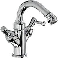 Abode Gallant Bidet Monobloc Mixer Bathroom Tap with Pop-up Waste
