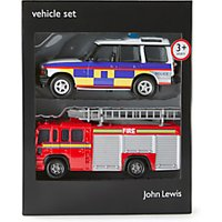 John Lewis Emergency Vehicles Set