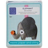 Sew Your Own Decoration Kit, Elephant
