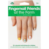 Farm Fingernail Stickers, Multi