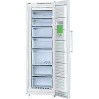 Bosch GSN33VW30G Tall Freezer, A++ Energy Rating, 60cm Wide, White
