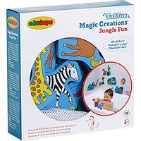 Magic Creation Jungle Fun Bath Shapes