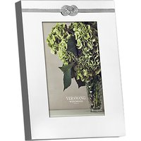 Vera Wang for Wedgwood Infinity Photo Frame, 4 x 6 (10 x 15cm), Silver