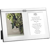 Vera Wang for Wedgwood Infinity Frame, Silver