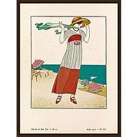 The Courtauld Gallery, Gazette Du Bon Ton - No10 1913 Sur La Falaise Print, 50 x 40cm