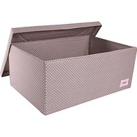 Minene Large Spot Box, Grey