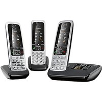 Gigaset C430A Digital Cordless Telephone and Answer Machine, Trio DECT