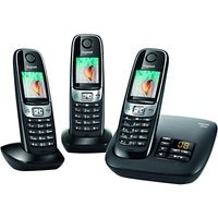 Gigaset C620A Digital Telephone and Answer Machine, Trio DECT