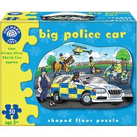 Orchard Toys Big Police Car Floor Jigsaw Puzzle