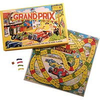 House of Marbles Grand Prix Race Vintage Style Board Game