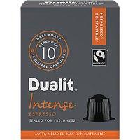Dualit Intense Espresso NX Capsules, Nespresso Compatible