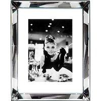 Brookpace, The Manhattan Collection - Audrey Hepburn Framed Print, 87 x 67cm