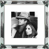 Brookpace, The Manhattan Collection - Robert Redford and Barbra Streisand Framed Print, 46 x 46cm