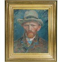 Rijksmuseum, Vincent Van Gogh - Self Portrait Framed Print, 34 x 29cm