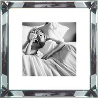 Brookpace, The Manhattan Collection - Marilyn Monroe Bed Framed Print, 46 x 46cm