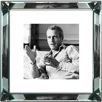 Brookpace, The Manhattan Collection - Paul Newman Framed Print, 46 x 46cm