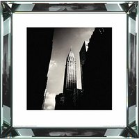 Brookpace, The Manhattan Collection - Chrysler Building Framed Print, 46 x 46cm