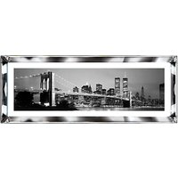 Brookpace, The Manhattan Collection - New York Skyline Framed Print, 39 x 102cm