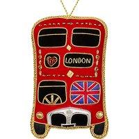 Tinker Tailor Tourism Union Jack London Bus Hanging Decoration