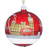 Bombki Tourism London Sky Glass Hanging Decoration
