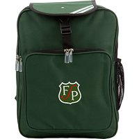Forest Park Preparatory School Unisex Backpack, Green