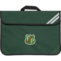 Forest Park Preparatory School Unisex Book Bag, Green